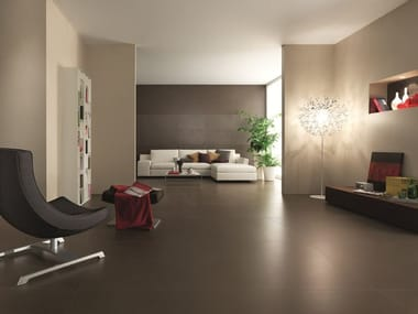 Laminated stoneware wall/floor tiles with stone effect AISTHESIS 0.3