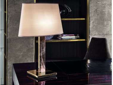 Fabric table lamp AKILELE | Table lamp