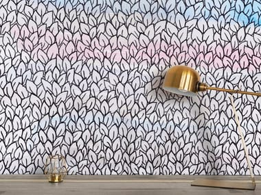 Ecological washable PVC free wallpaper AL TRAMONTO