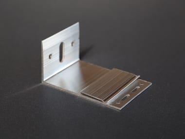 """Staffa ad """"L"""" in alluminio AL120"""