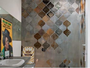 Wall effect bathroom wallpaper ALADINO