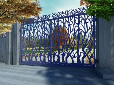 Swing Motorized iron gate ALBERI 2655
