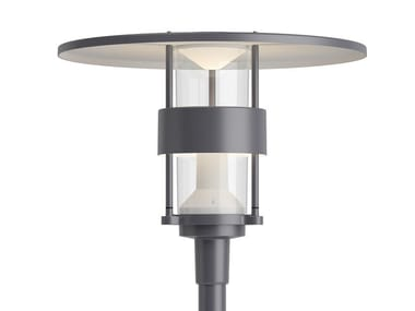 Farola LED de aluminio moldeado ALBERTSLUND MAXI