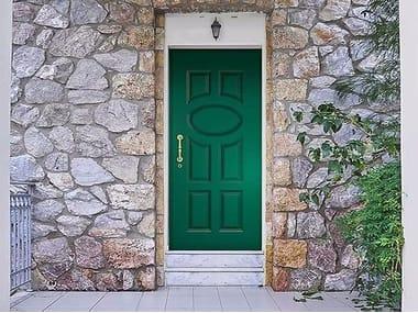 Porta d'ingresso in alluminio ALCHIMIA | Porta d'ingresso