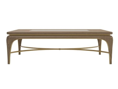Rectangular coffee table for living room ALEXANDER | Rectangular coffee table