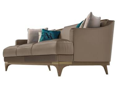 3 seater leather sofa ALEXANDER | Sofa