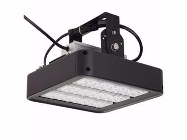 Proiettore per esterno a LED orientabile in alluminio ALFA
