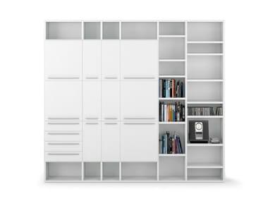 Libreria componibile in PVC ALFABETO | Libreria in PVC