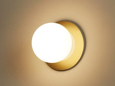 LED glass wall light with dimmer ALFI | Glass wall light