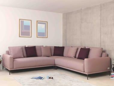 Sofá 5 lugares de relaxamento de tecido de canto ALFIL | Sofá de canto