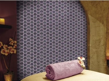 Indoor/outdoor polyurethane mosaic ALHAMBRA