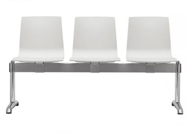 Technopolymer beam seating ALICE | Beam seating