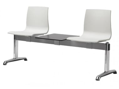 Freestanding technopolymer beam seating ALICE | Freestanding beam seating