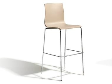 High technopolymer stool ALICE H80