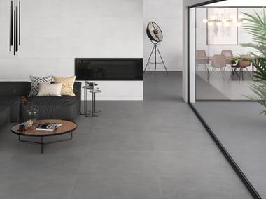 Indoor/outdoor wall/floor tiles with concrete effect ALLEY 4D
