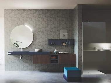 Wall-mounted vanity unit ALMA 11
