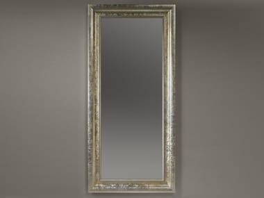 Freestanding rectangular framed mirror ALMA