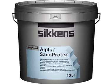 Antibacterial water-based paint ALPHA SANOPROTEX