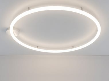 Methacrylate wall lamp / ceiling lamp ALPHABET OF LIGHT CIRCULAR | Ceiling lamp