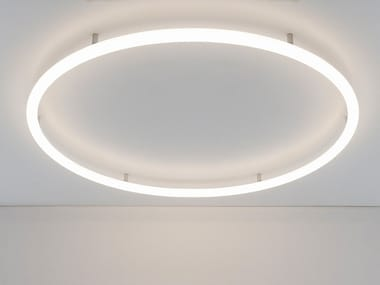 Lampada da parete / lampada da soffitto a semi-incasso ALPHABET OF LIGHT CIRCULAR | Lampada da soffitto a semi-incasso