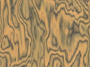 Wooden wall tiles ALPI SOTTSASS ORANGE