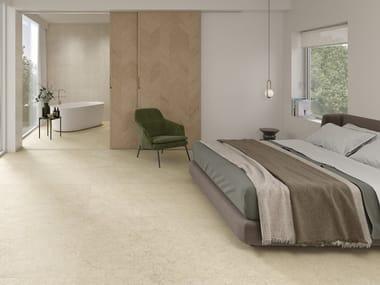 Pavimento/rivestimento in gres porcellanato effetto pietra ALPINE 4D
