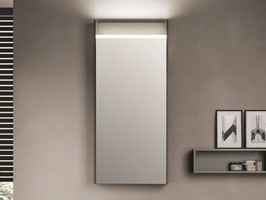 Wall-mounted bathroom mirror with cabinet ALTEREGO