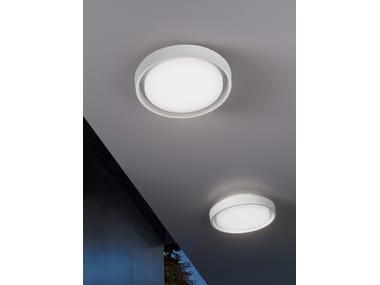 Plafoniera a LED a led a luce diretta in alluminio in stile moderno ALU | Lampada da soffitto in alluminio