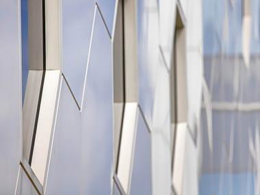Panneau de façade en matériau composite ALUCOBOND® sparkling