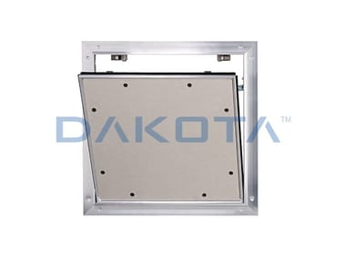 Fireproof inspection chamber for partition walls ALUMATIC F30/EI30, F90/EI90