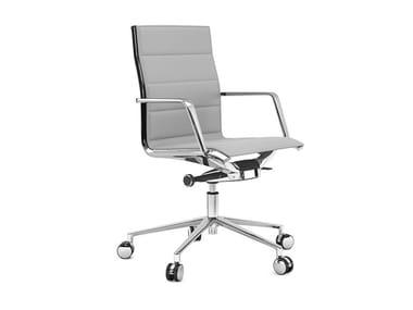 Swivel task chair with 5-Spoke base ALUMINIA | Task chair with 5-Spoke base