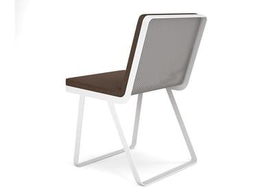 Aluminium garden chair MAKEMAKE | Aluminium chair