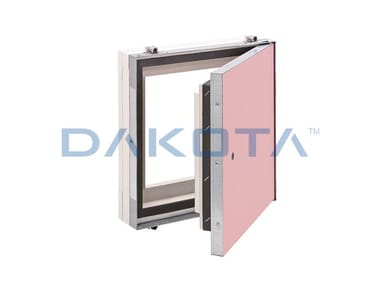 Fireproof inspection chamber for partition walls ALUSPEED F120/EI120