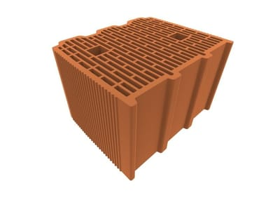 External masonry clay block ALVEOLATER CLIMA 30 h24,5 F55