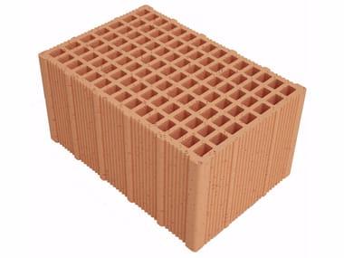 Clay building block Alveolater PZS APZS380 S25