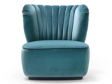 Fabric easy chair AMELIA