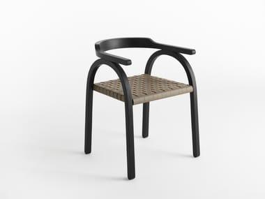 Sedia con braccioli AMILCARE | Sedia