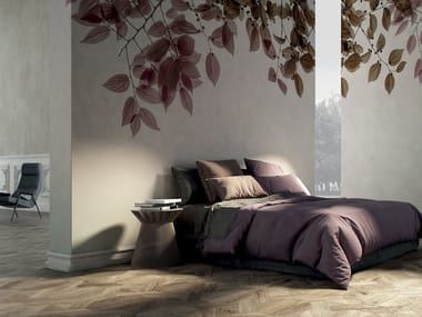 Wallpaper with floral pattern AMOUR