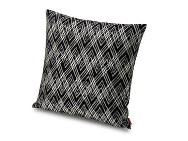 Cuscino in tessuto jacquard tinto filo double ANCHORAGE