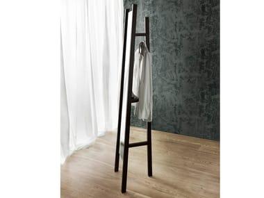 Freestanding framed wooden mirror ANDREA | Mirror