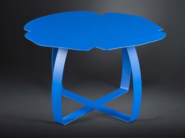 Iron side table for living room ANDY | Iron coffee table