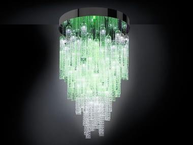 LED Murano glass pendant lamp ANDY | Pendant lamp
