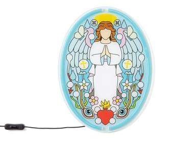 Lampada da parete a LED in acrilico ANGEL GABRIEL