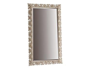 Rectangular framed wall-mounted mirror ANGELICA 120X210 | Mirror