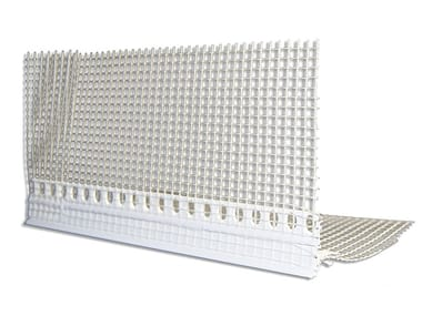 Glass-fibre Seal and joint for insulation product ANGOLARE IN PVC CON ROMPIGOCCIA