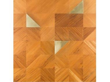 Teak wall/floor tiles ANGOLI