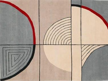 Handmade rug ANGULUS