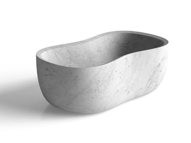 Freestanding marble bathtub ANIMA | Bathtub