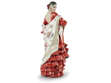 Porcelain decorative object FLAMENCO SOUL