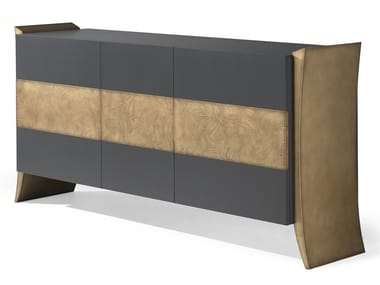 Lacquered MDF sideboard with doors ANNIVERSARY | Lacquered sideboard